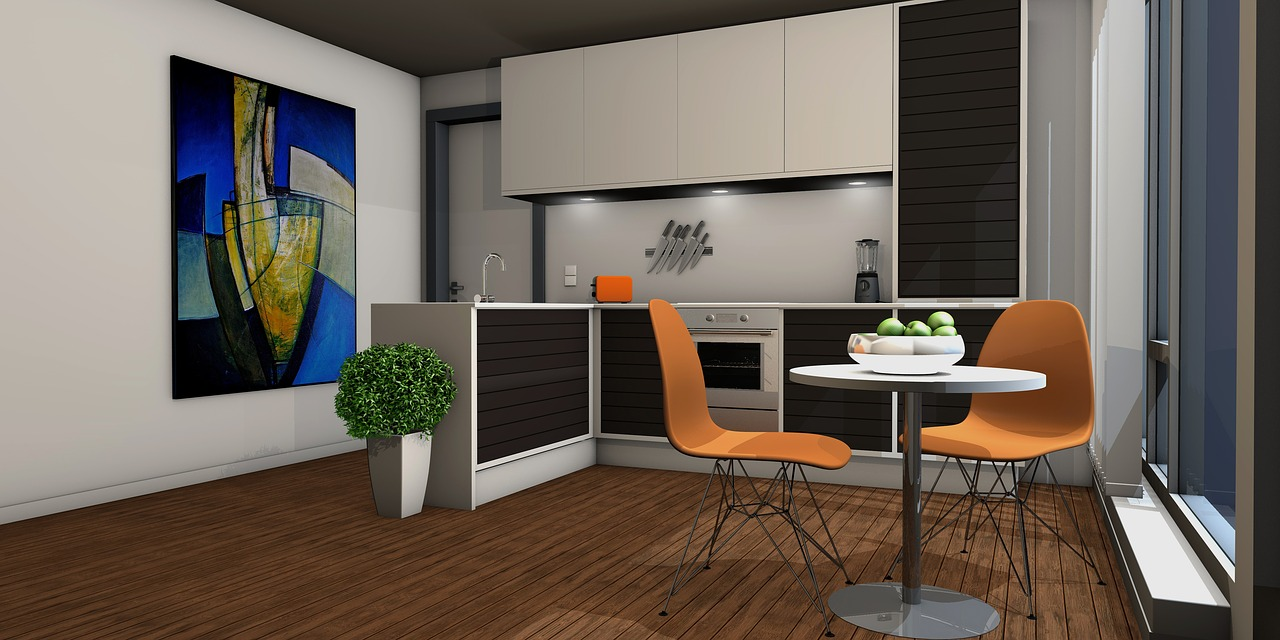 Praktische Möbel für eine moderne kleine Küche – immo-kaufportale.de